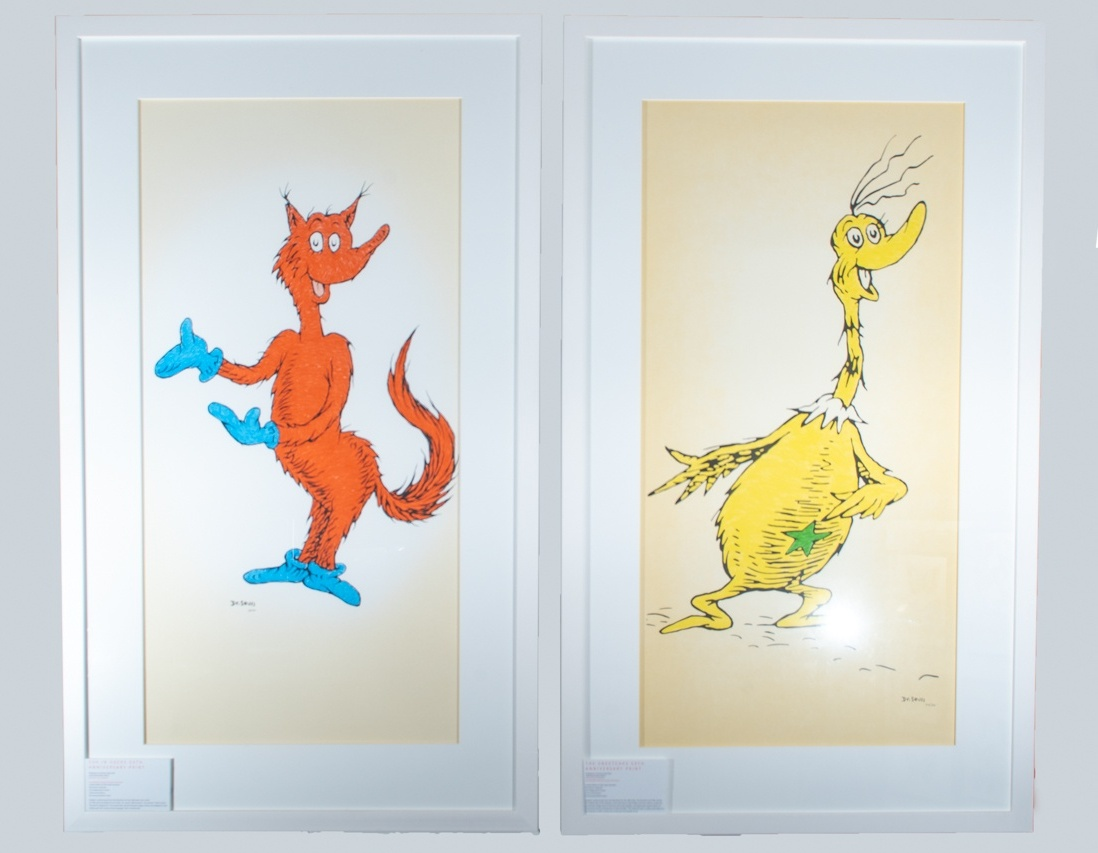Dr Seuss: Fox in Sox and the Sneetch
