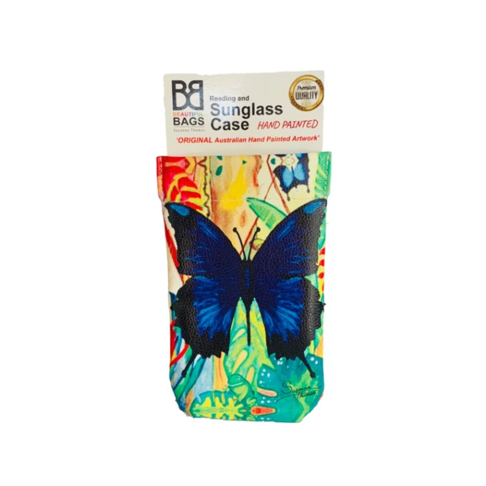 Blue-Butterfly-Sunglass-Case