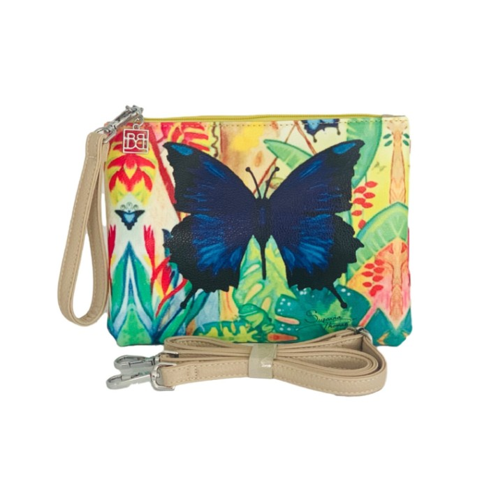 Blue-Butterfly-Wrist-Cross-Body-Bag