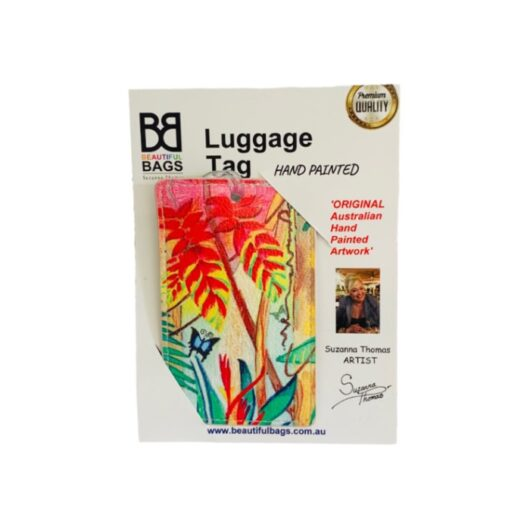 Tropical-Magic-Luggage-Tag
