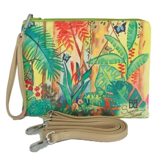 Tropical-Magic-Wrist-Cross-Body-Bag