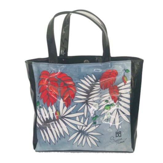 Tropical-Red-Luxury-Shopper